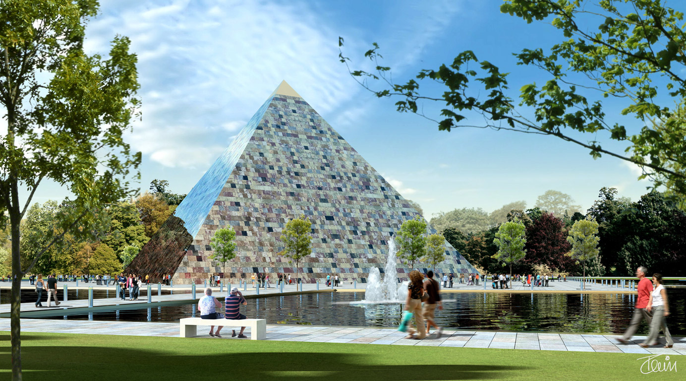 Answers to questions about the Earth Pyramid.