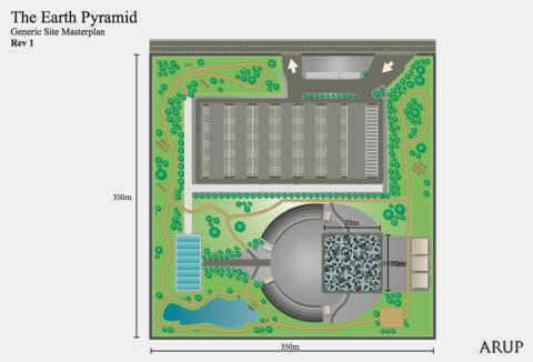 Earth Pyramid Generic Site Masterplan